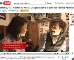 Spiegel TV Online zu Besuch im Künstlersalon Berlin